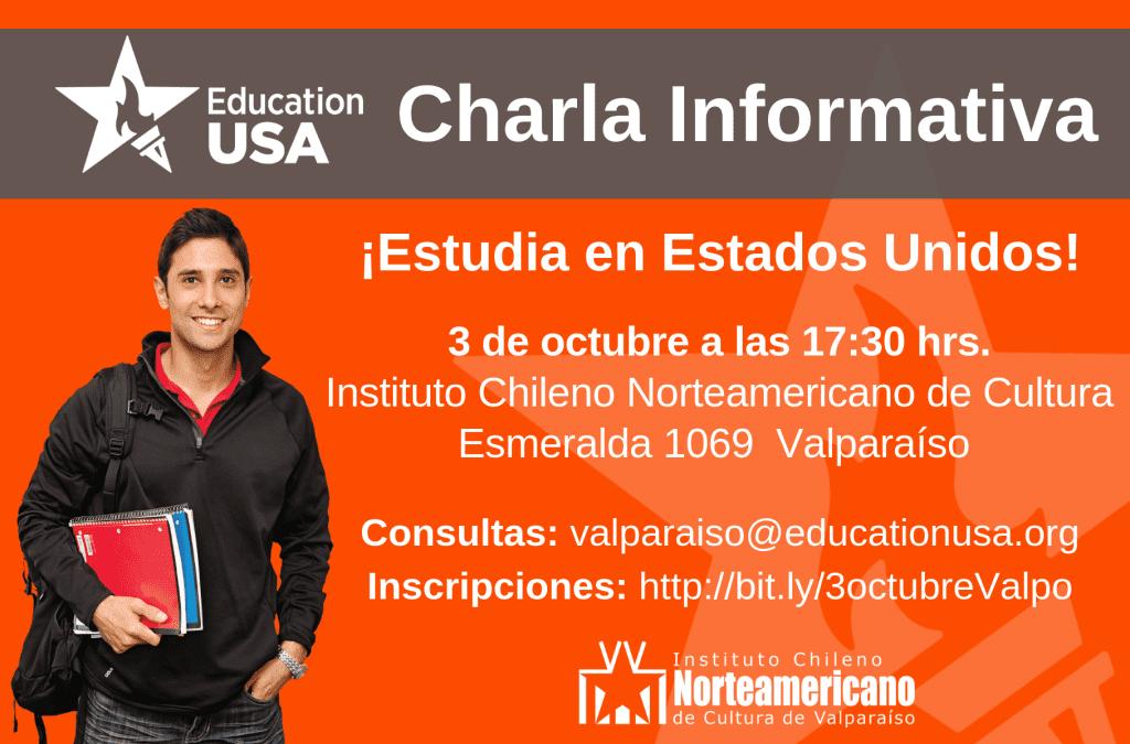 Valparaíso: ¡Estudia en  Estados Unidos!